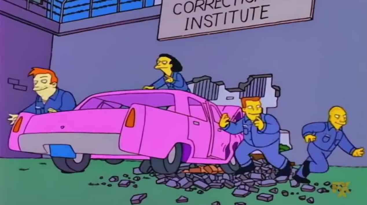 El coche de Homer Simpson: ya conocemos la marca y el modelo