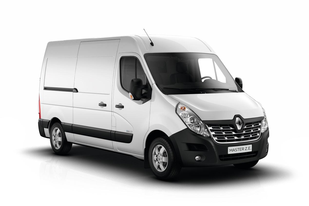 Renault presenta sus nuevos Kangoo y Master Z.E.