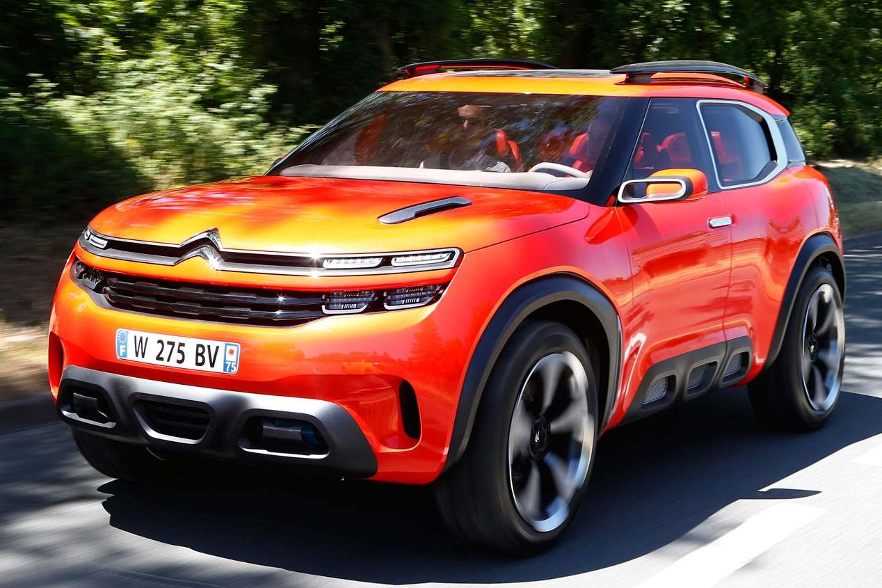 El nuevo SUV de Citroën podría llamarse C5 Aircross