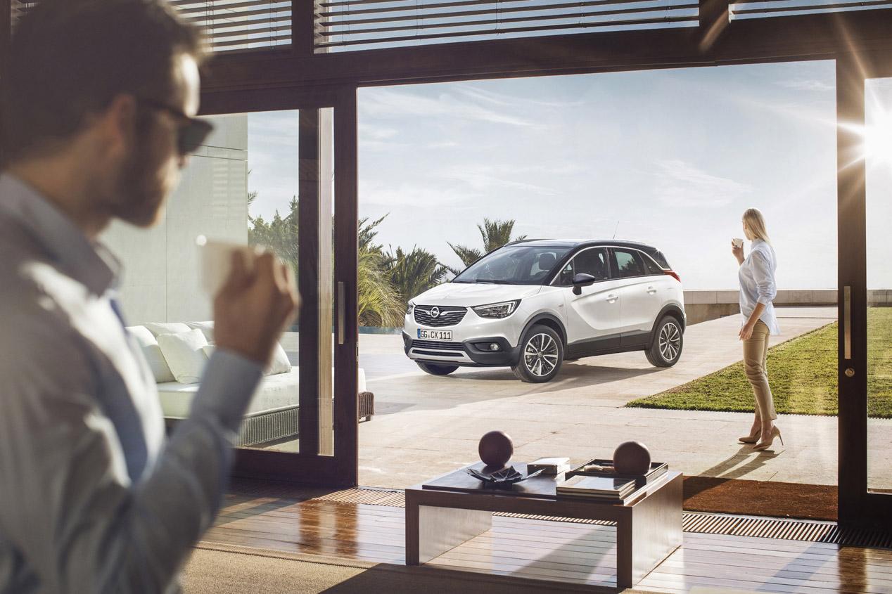 Opel Crossland X: primeras fotos oficiales del nuevo SUV