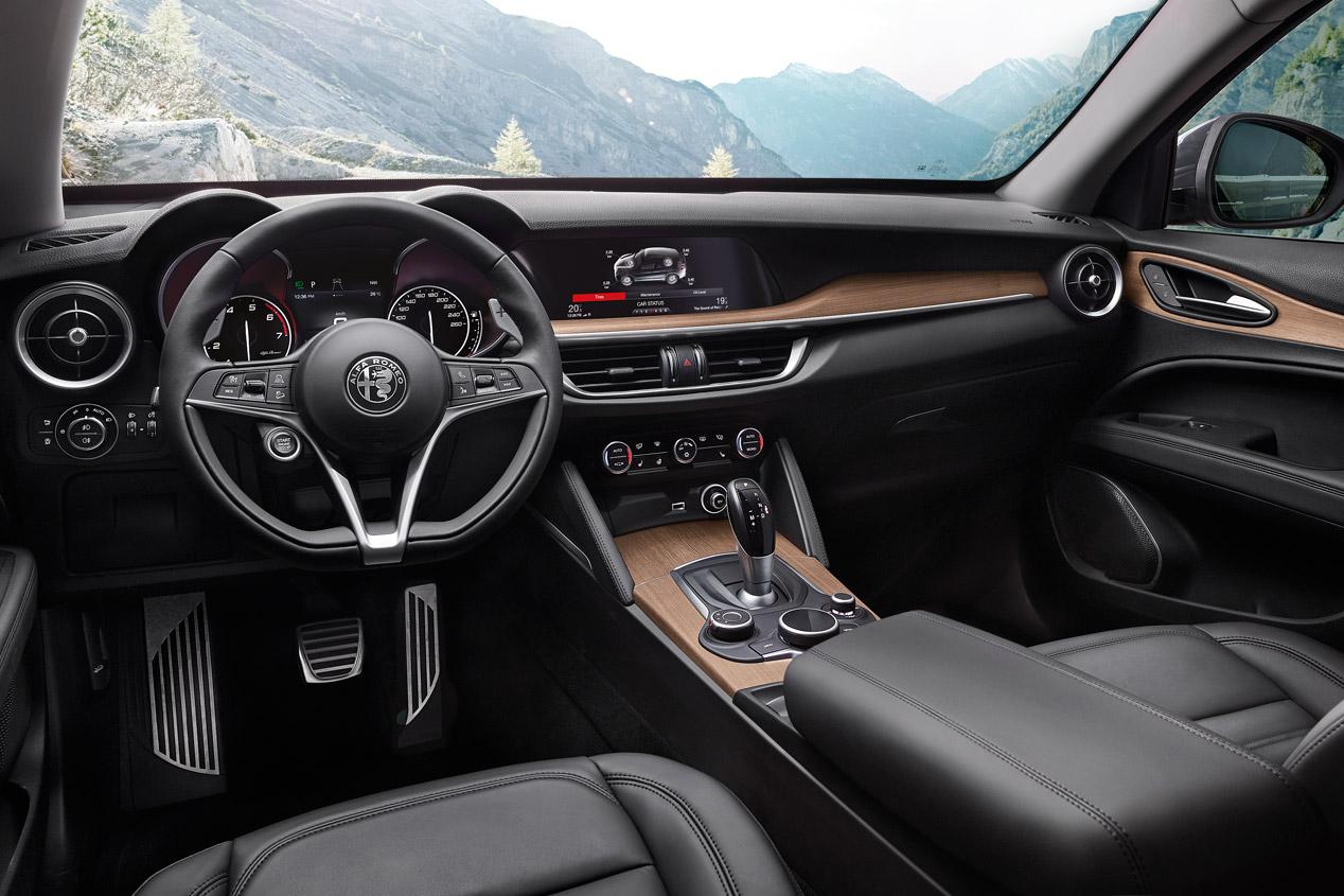 Alfa Romeo Stelvio First Edition, sus fotos