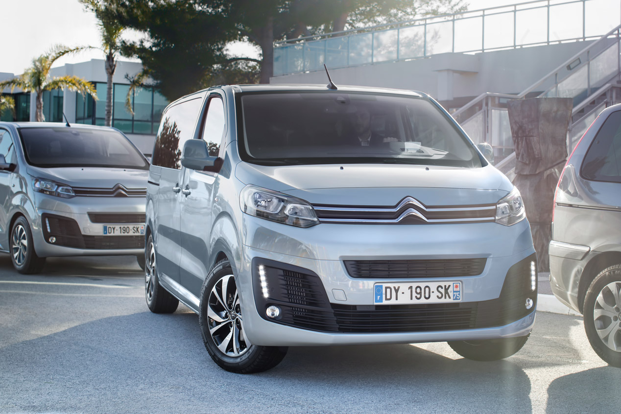 Citroën SpaceTourer XS, sus mejores fotos