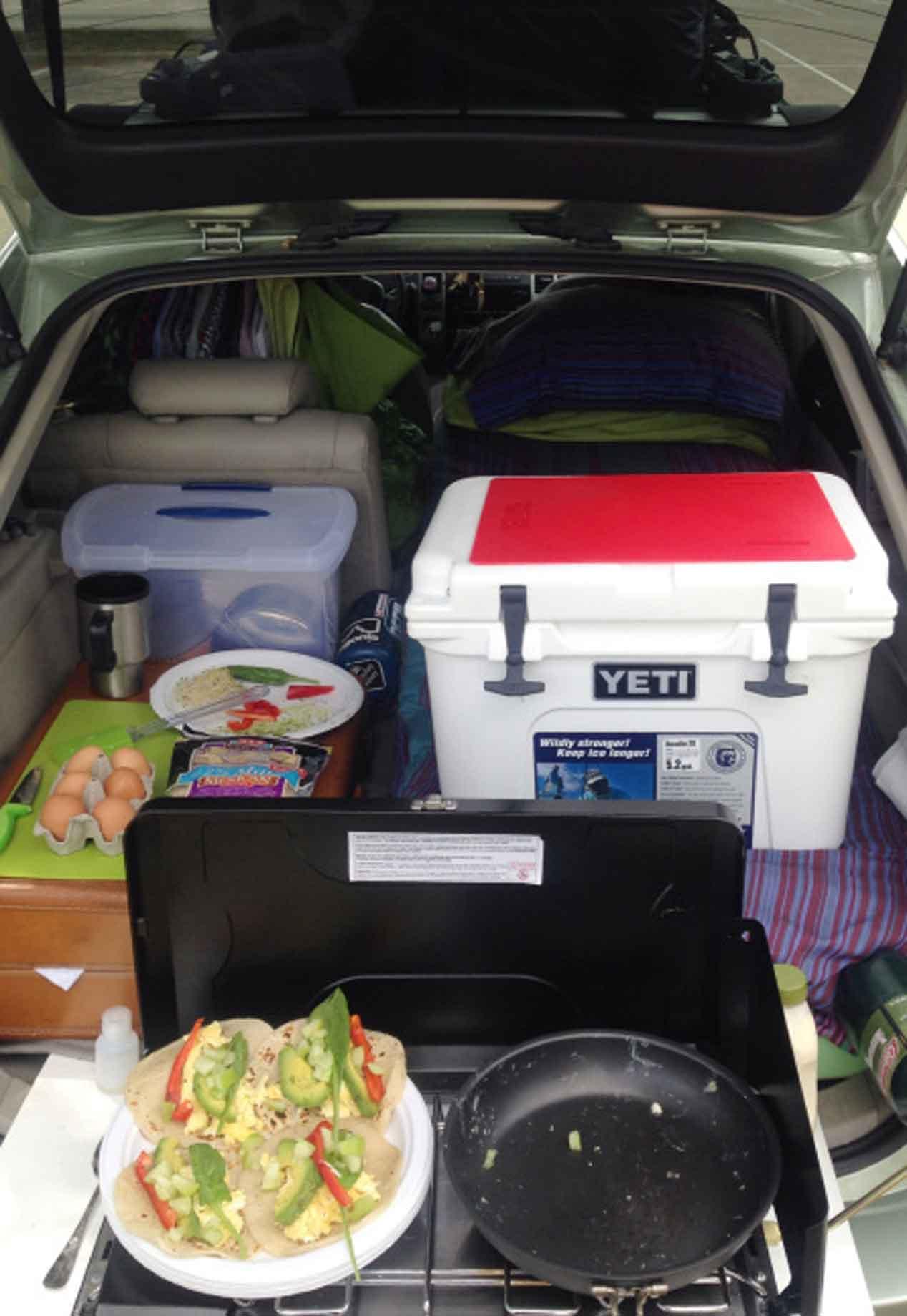 Un Toyota Prius convertido en casa