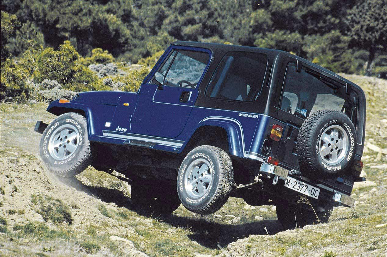El día que montamos a lomos del Jeep Wrangler