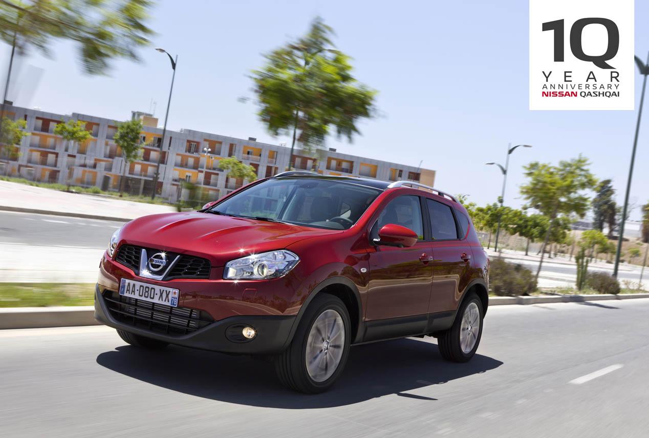 10 años del Nissan Qashqai