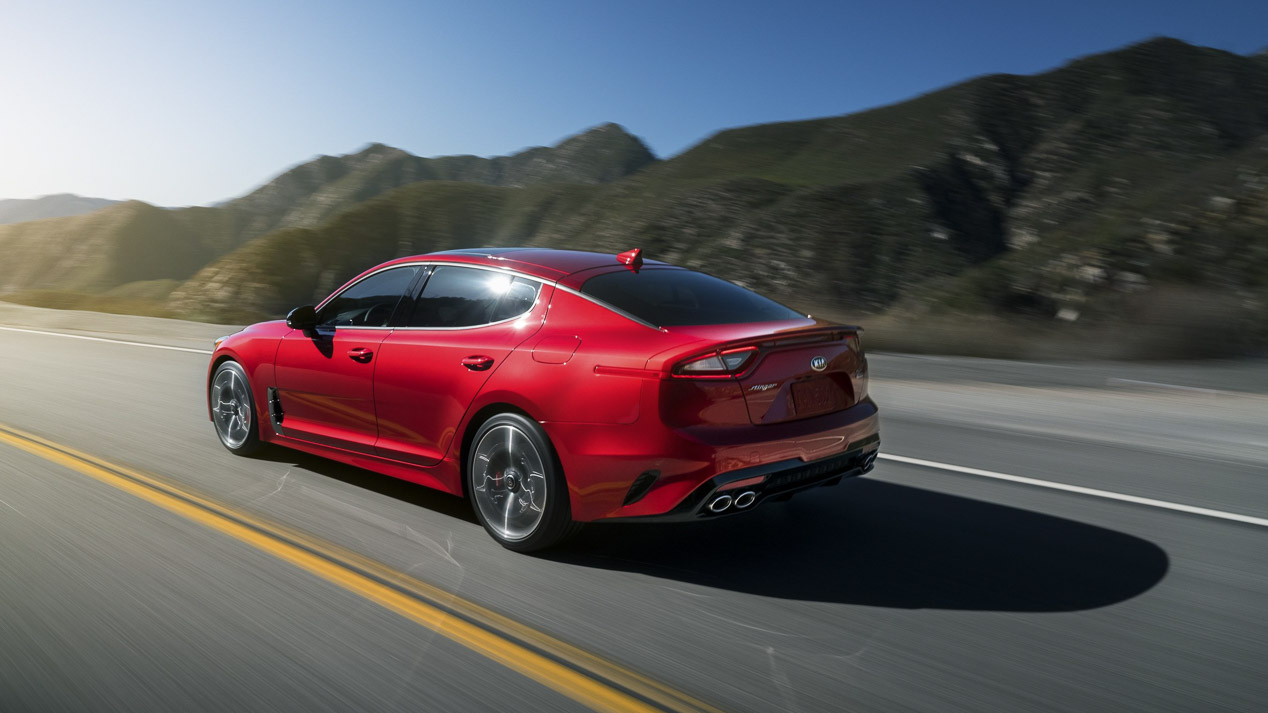 Kia Stinger, la berlina coupé de moda