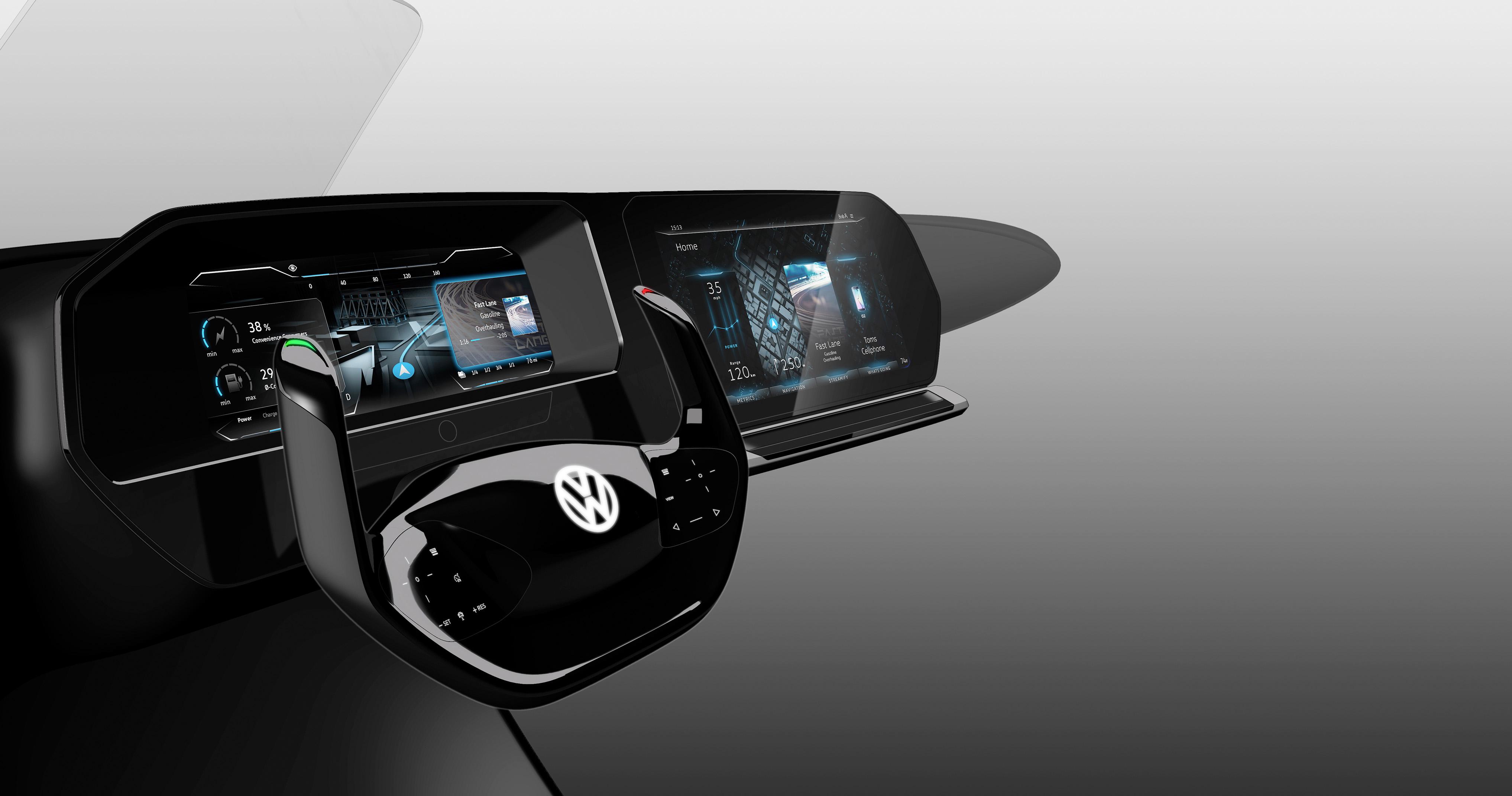 Las novedades tecnológicas que Volkswagen presentó en el CES de Las Vegas