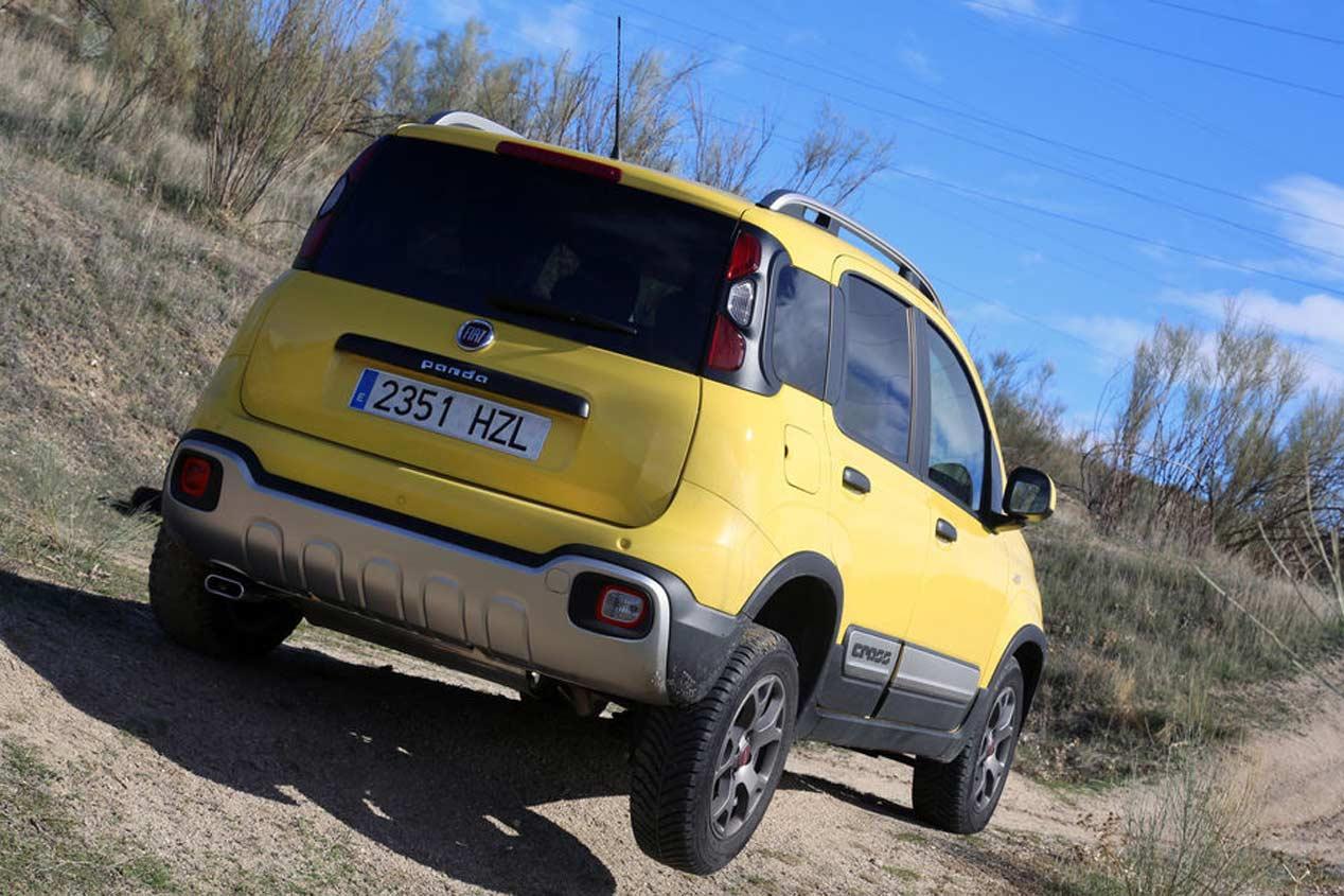 ¿Cuánto gasta el Fiat Panda Cross?