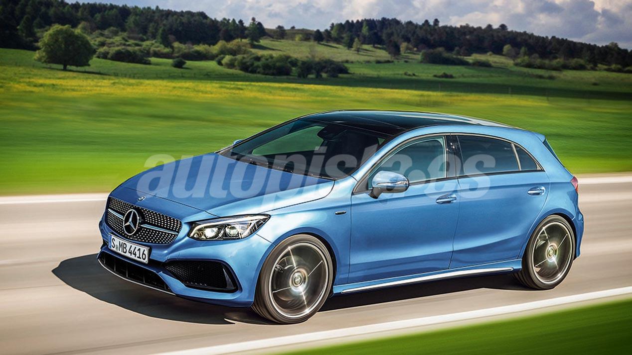 Mercedes CLA 2019 y Clase A 2018, las imágenes