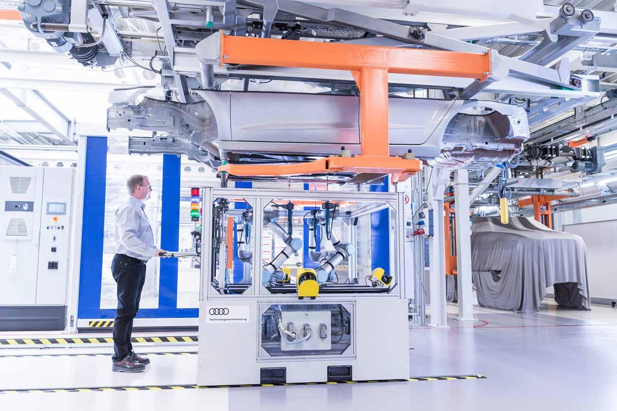 La fábrica del futuro de Audi, en fotos