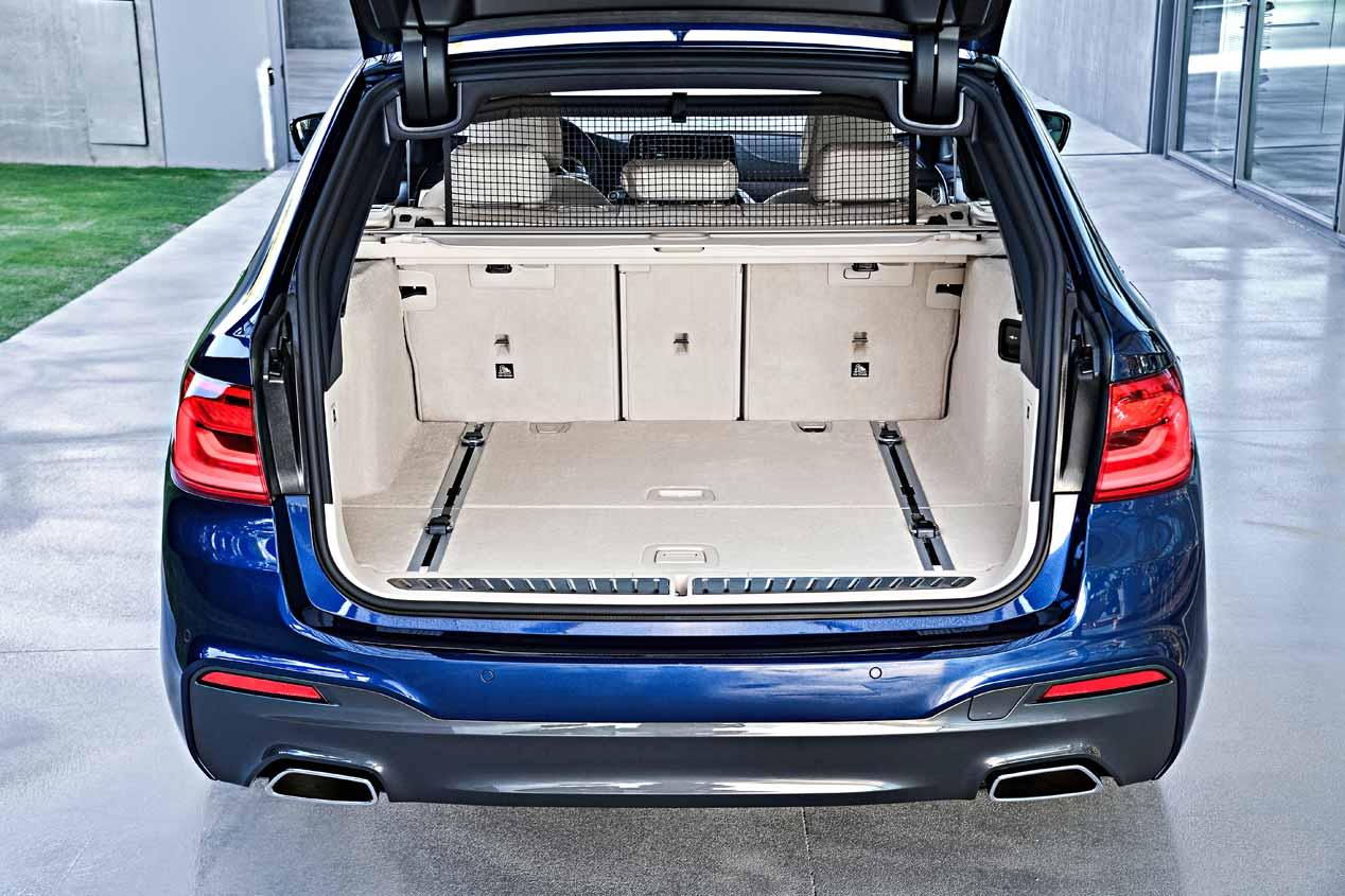 El BMW Serie 5 Touring familiar, en fotos