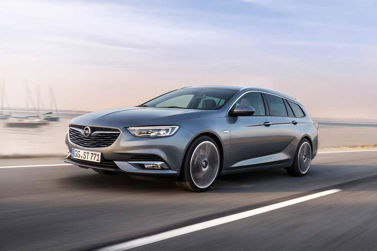 Opel Insignia Sports Tourer 2017, sus mejores fotos