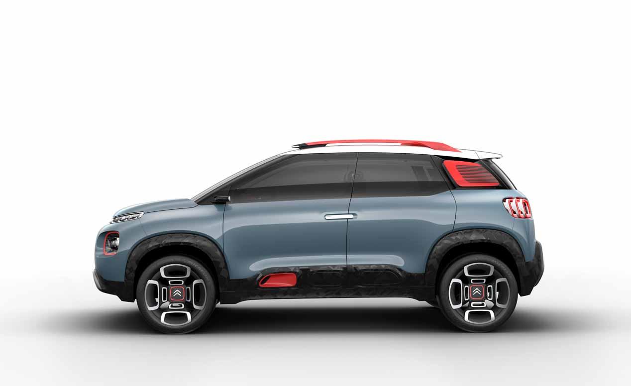Citroën C-Aircross Concept, sus mejores fotos