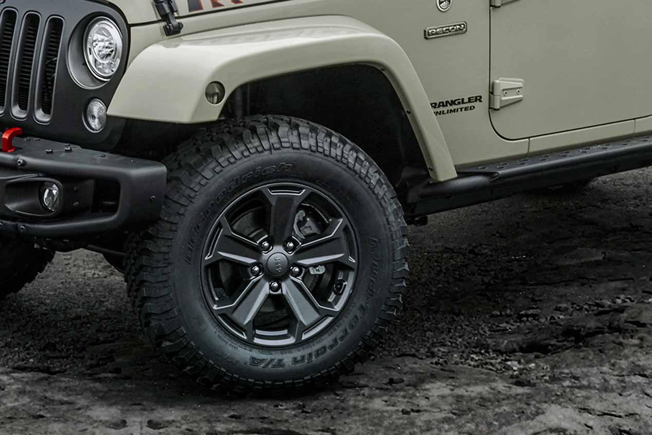 El Jeep Wrangler Rubicon Recon, en fotos