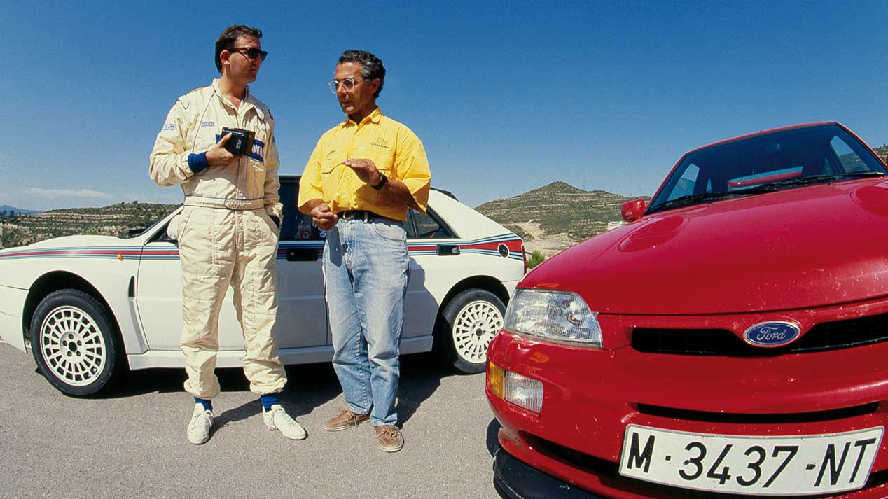 Coches para el recuerdo: Ford Escort Cosworth vs Lancia Delta HF Integrale