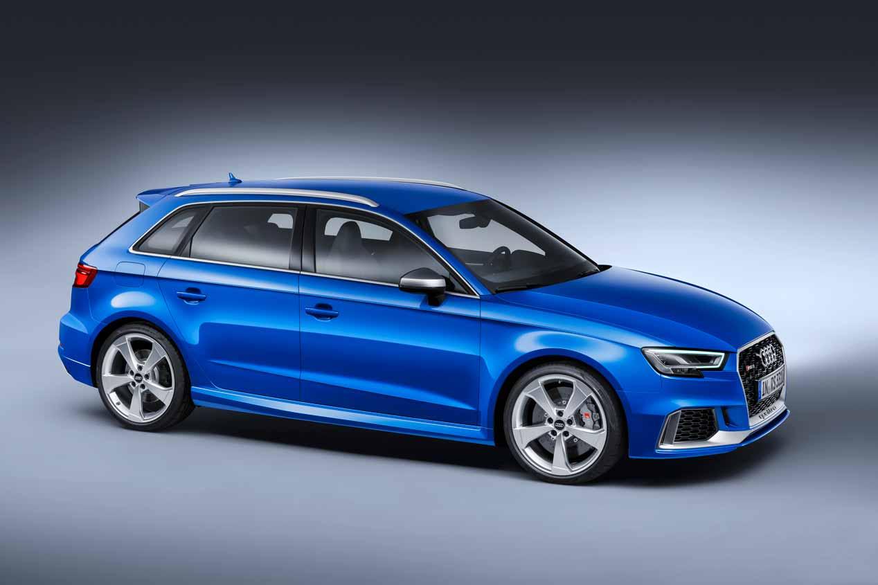 Audi RS 3 Sportback 2017, sus mejores imágenes