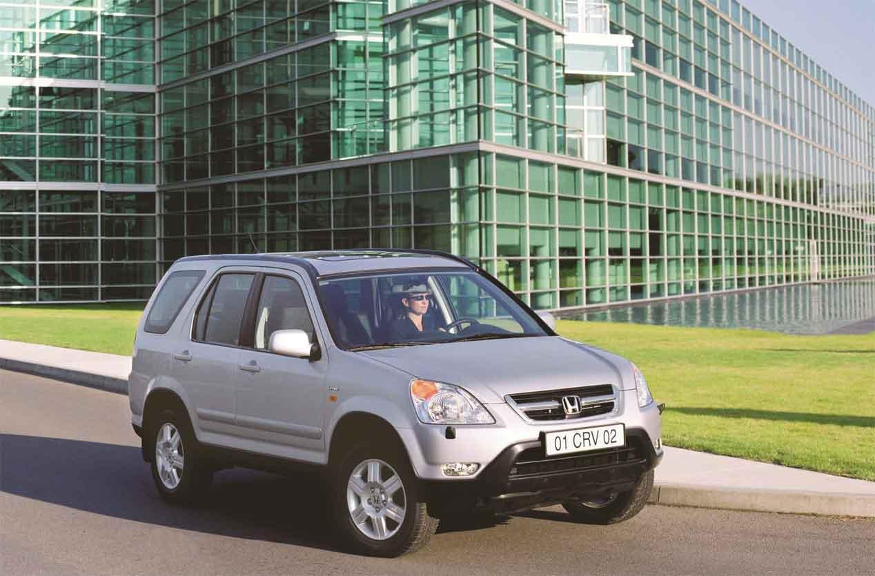 Honda CR-V: su historia a lo largo de 20 años