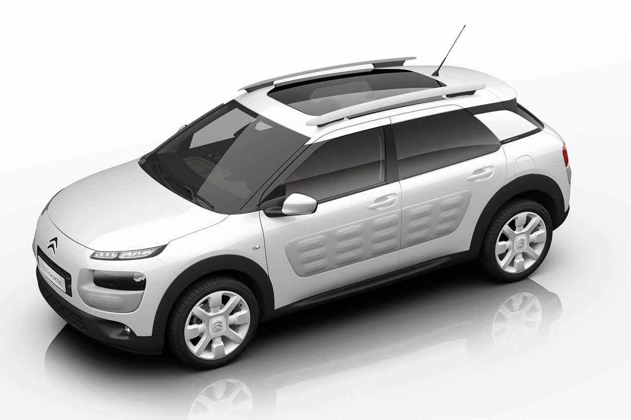 El Citroën C4 Cactus OneTone, en fotos