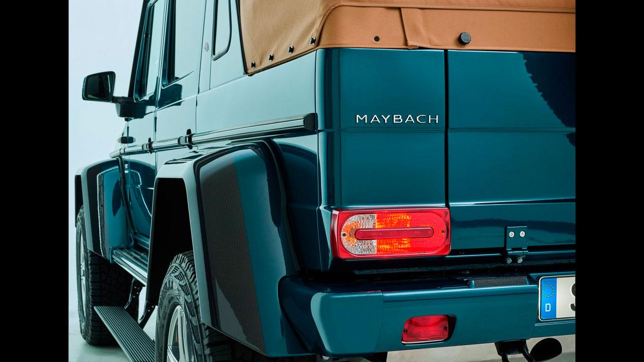 Mercedes G650 Maybach Landaulet, extremo en lujo y capacidad todoterreno