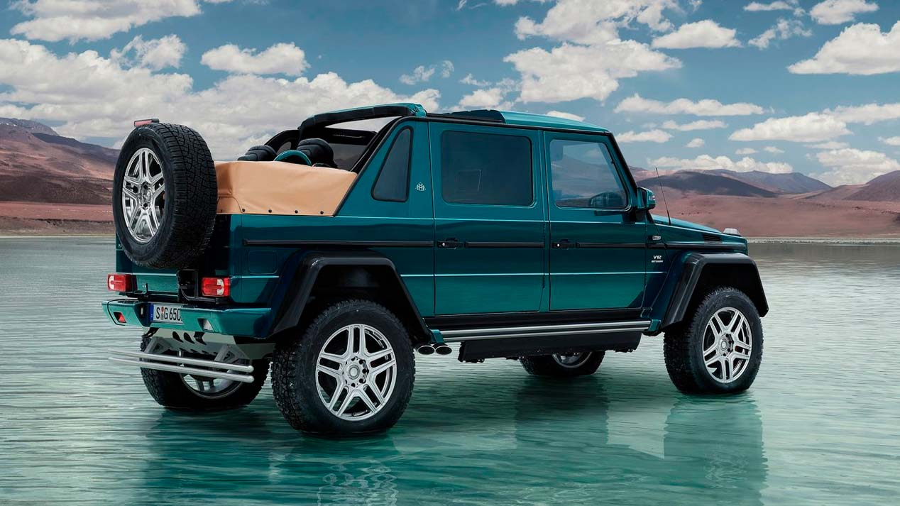 Mercedes G650 Maybach Landaulet