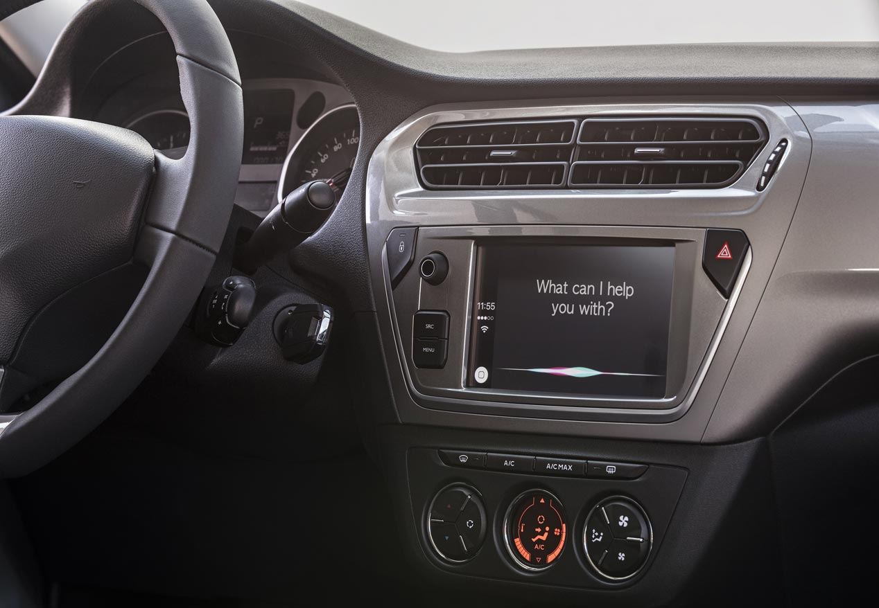 Citroën C-Elysée 2017, más tecnología