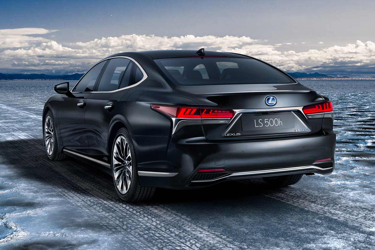 Lexus LS 500h, primeras imágenes