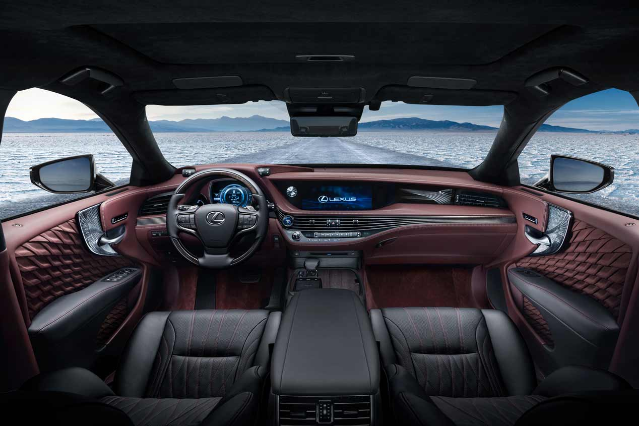 Lexus LS 500h, las mejores fotos
