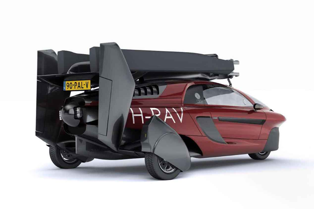 El primer coche volador que se comercializará