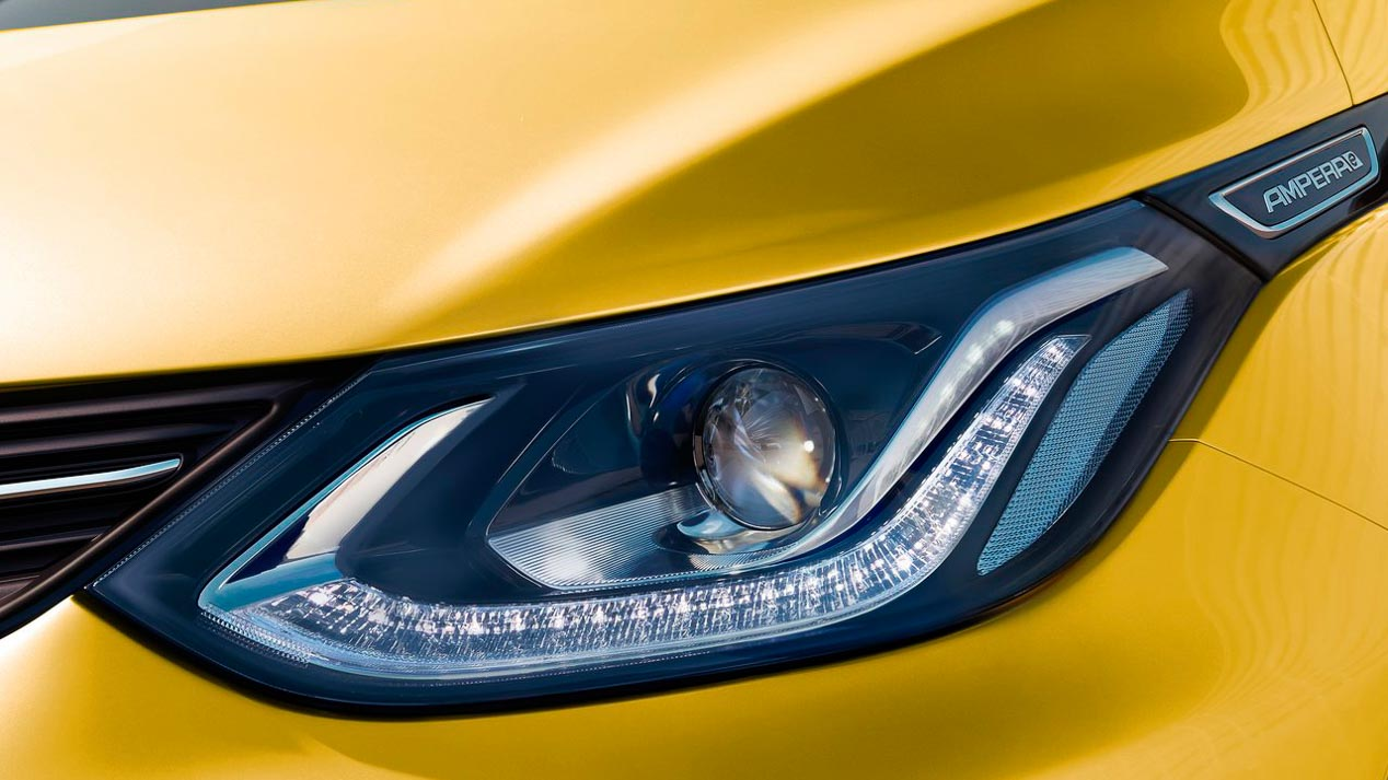 Opel Ampera-e, con 520 kilómetros de autonomía