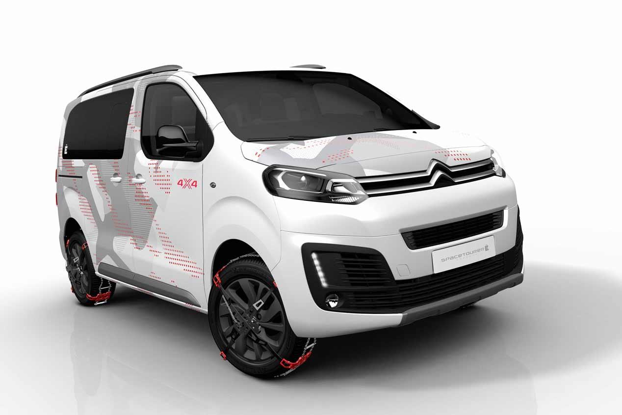 Citroën SpaceTourer 4X4, sus mejores fotos