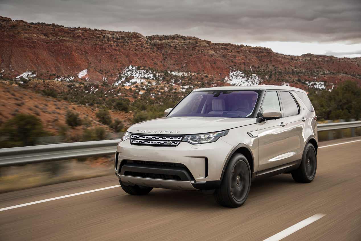 Land Rover Discovery 2017, a prueba