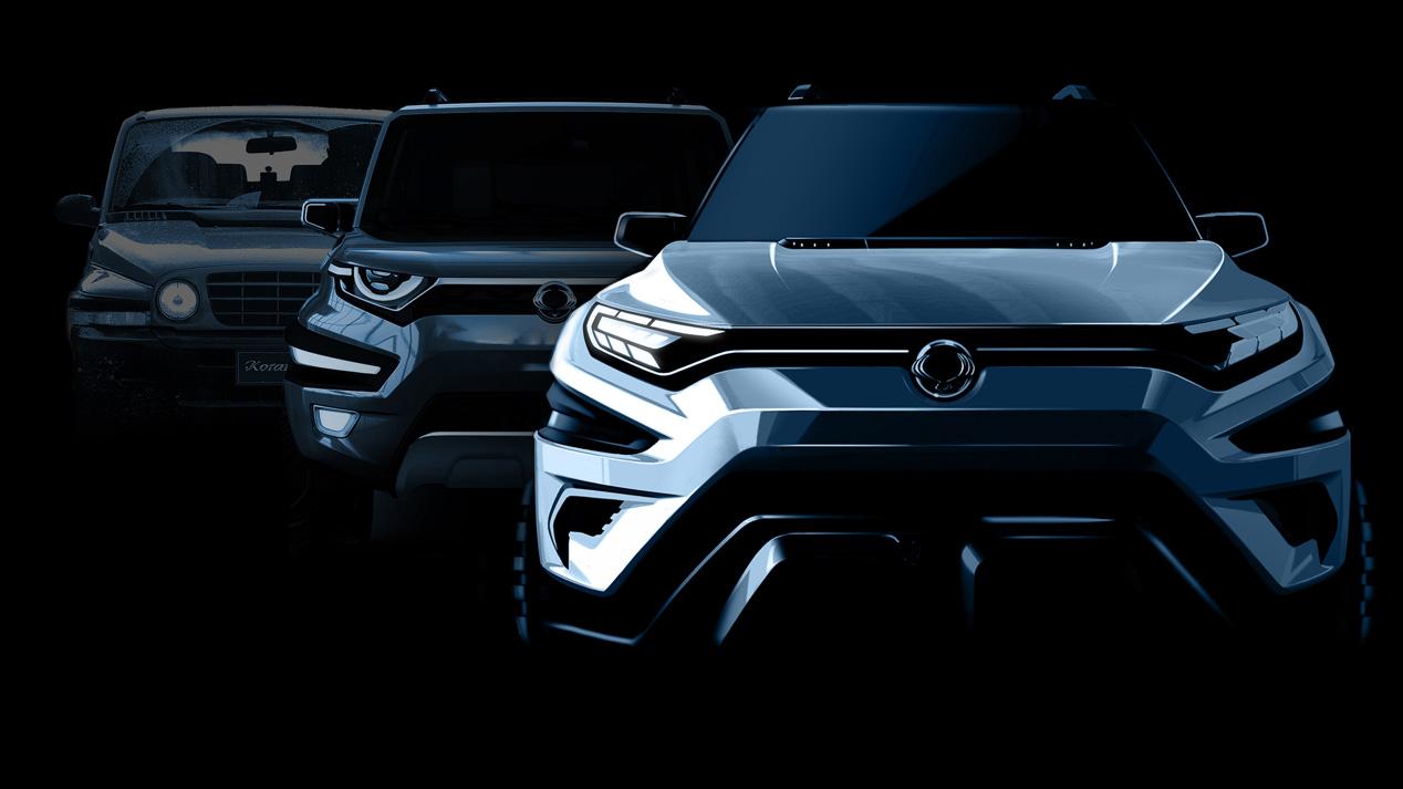 Ssangyong XAVL concept, ¿un futuro rival para el Peugeot 5008?