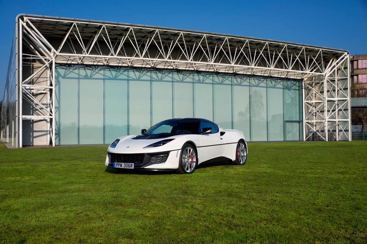 Lotus Evora Sport 410, sus mejores fotos