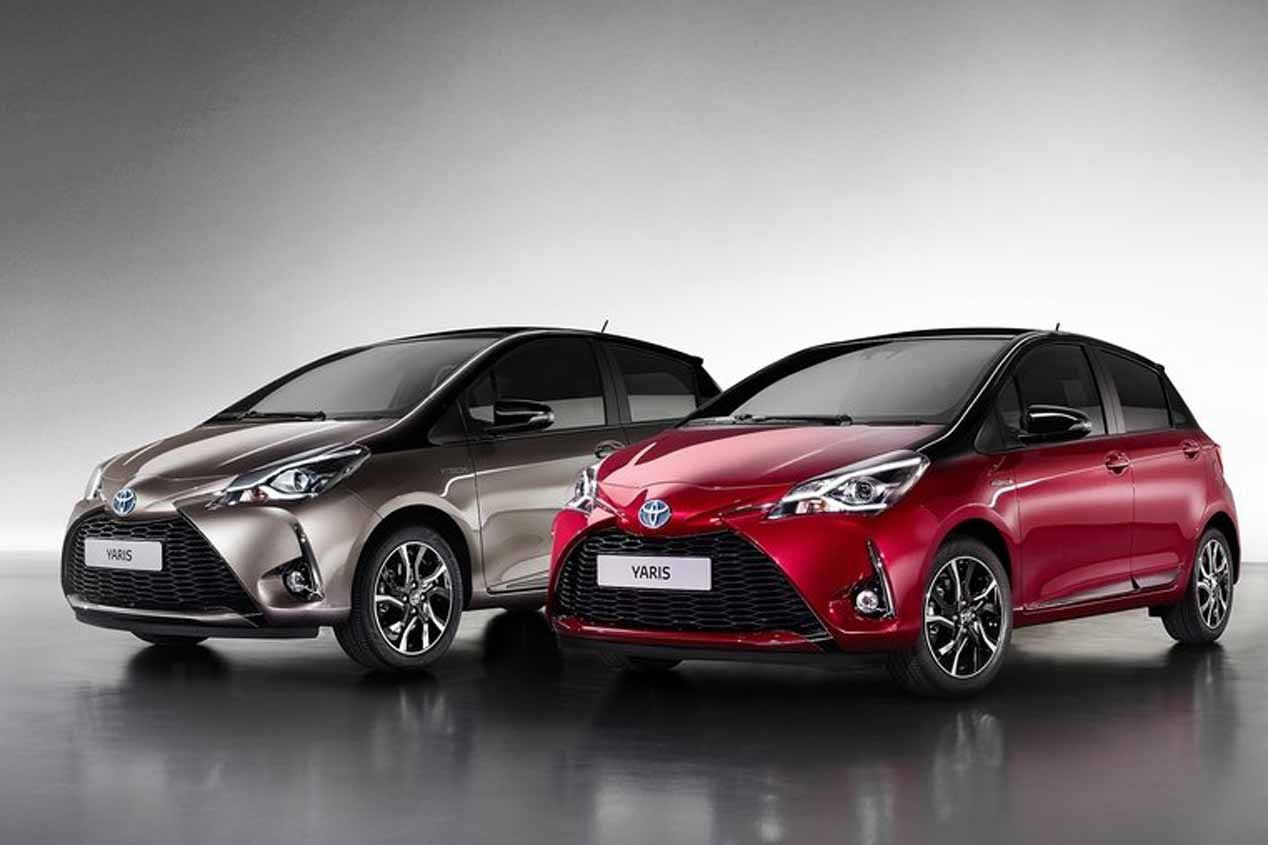 Toyota Yaris GRMN y Yaris 2017 en el Salón de Ginebra