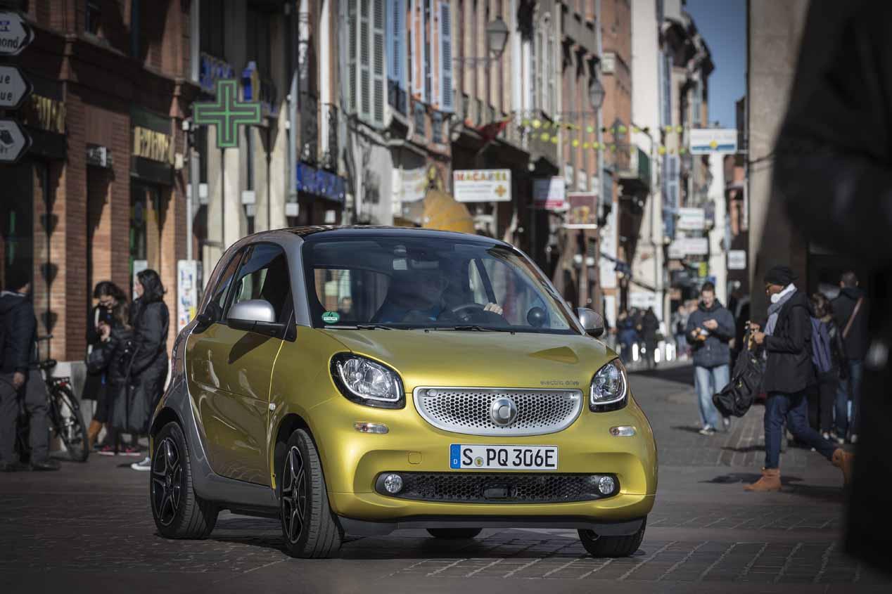 Conducimos el nuevo Smart Fortwo eléctrico