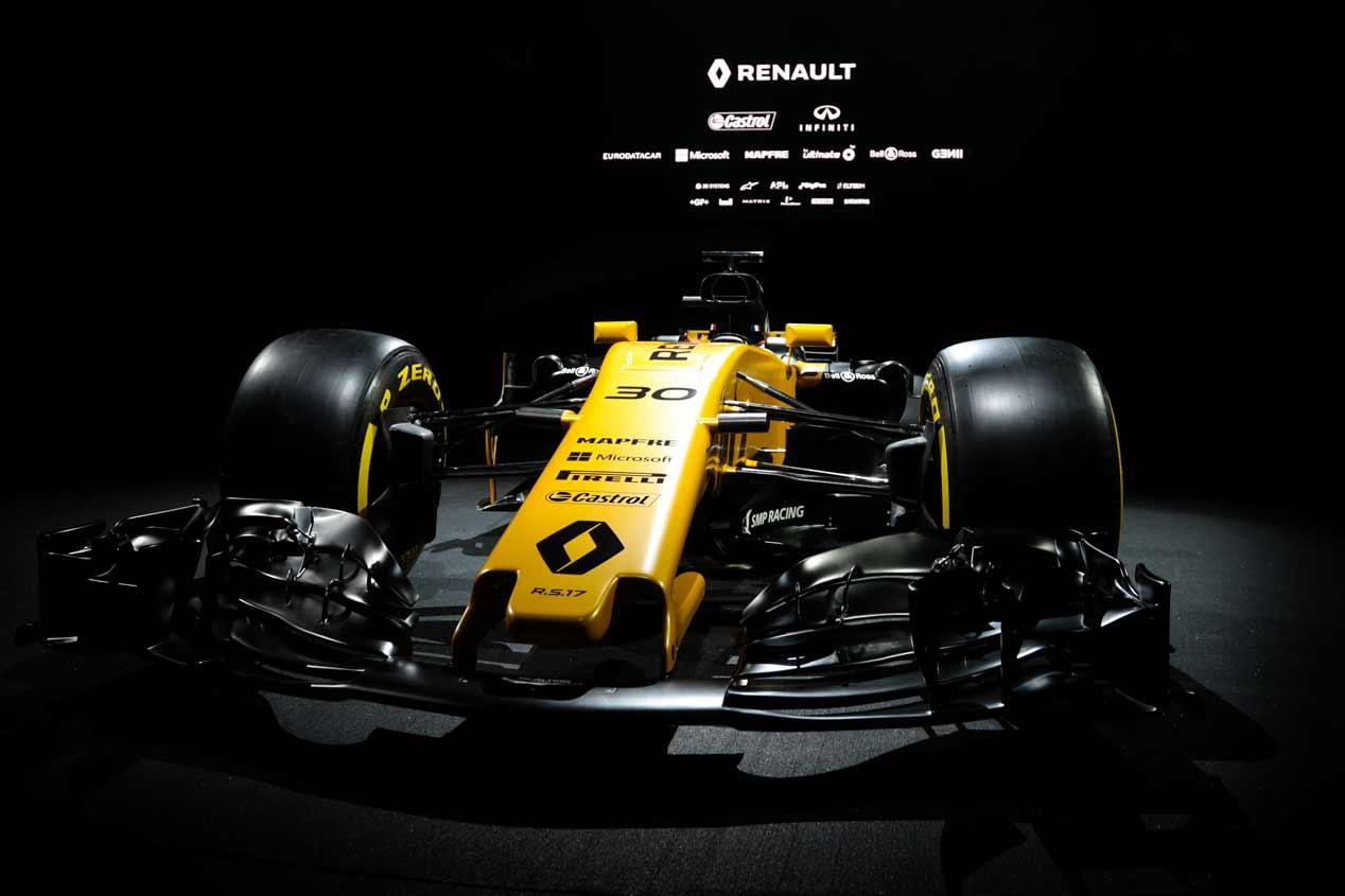 Fórmula 1: el monoplaza Renault R.S.17, en fotos