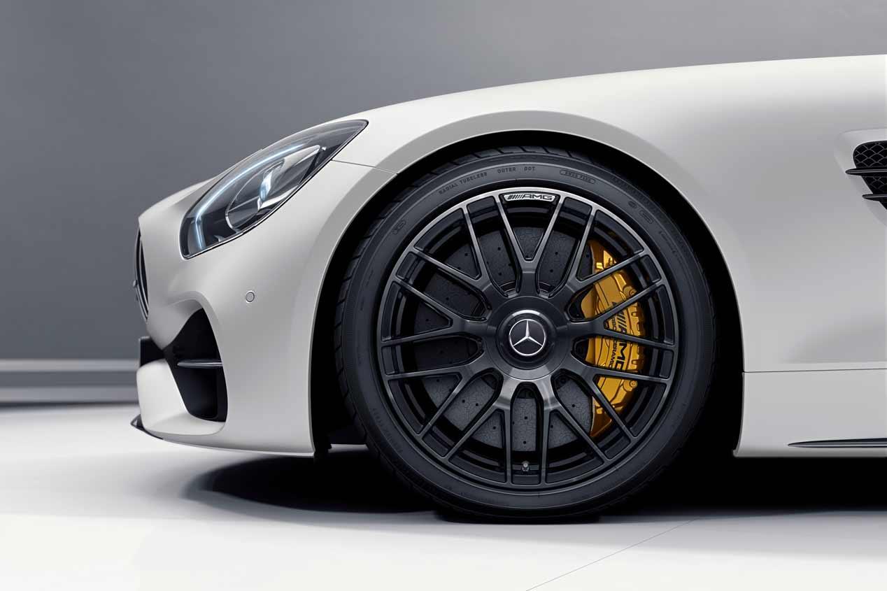 Mercedes-AMG GT C Roadster Edition 50, sus mejores fotos