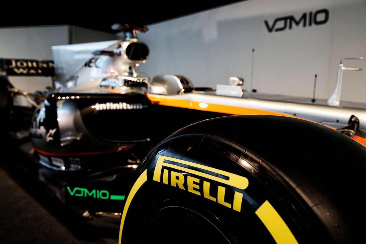 El monoplaza Force India VJM1 2017, en fotos
