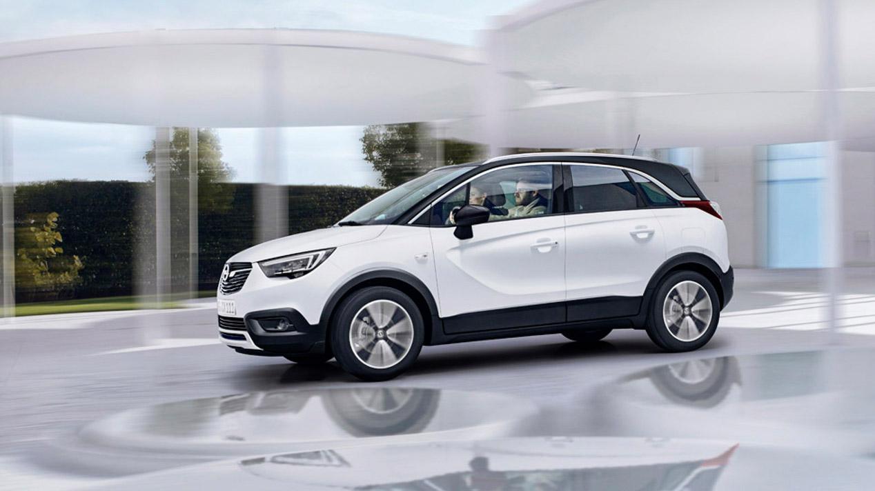 Opel SUV, Crossland X y Grandland X para 2017