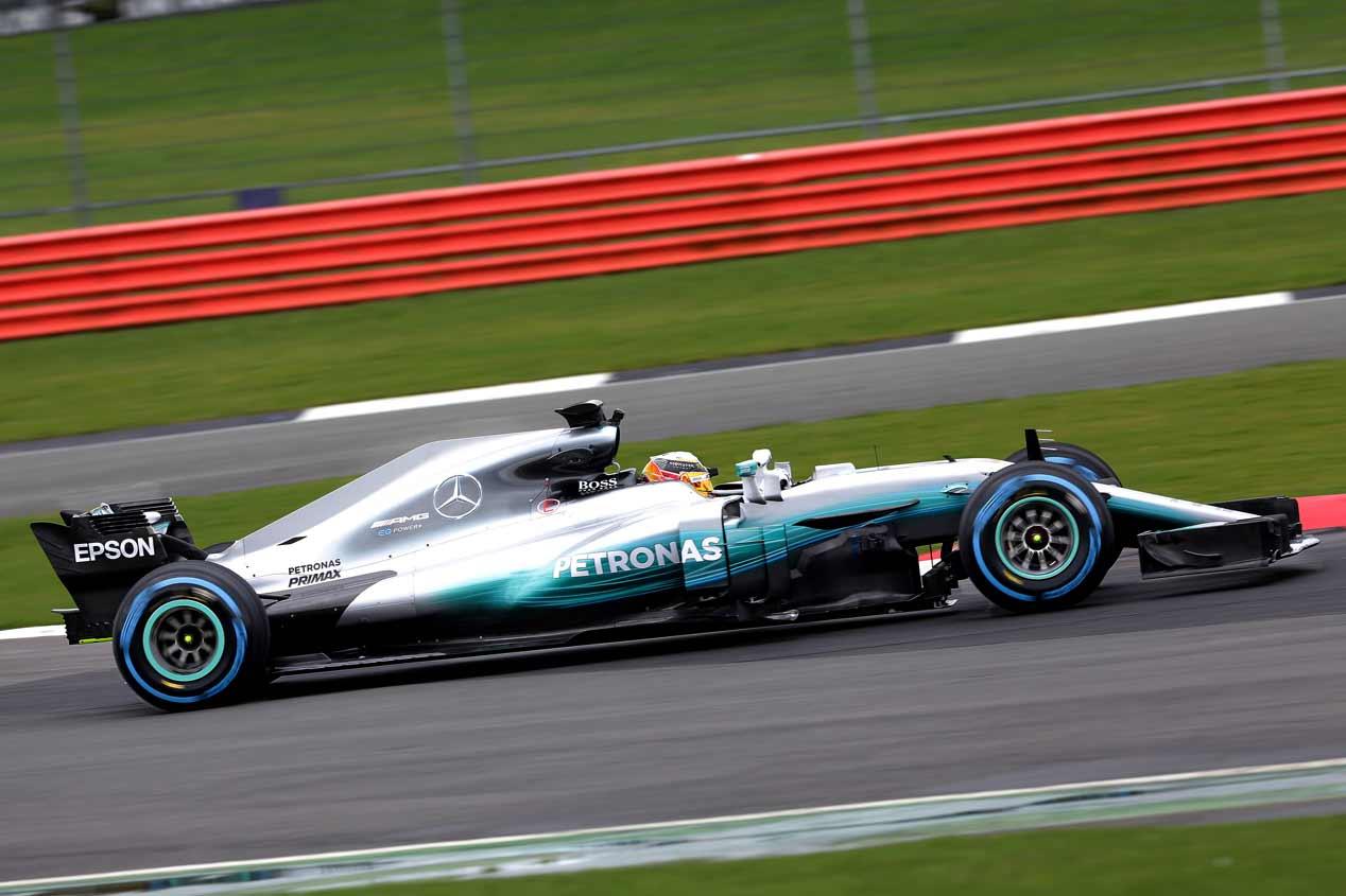 Mercedes W08 EQ Power+: así es el coche favorito para ganar la F1 2017
