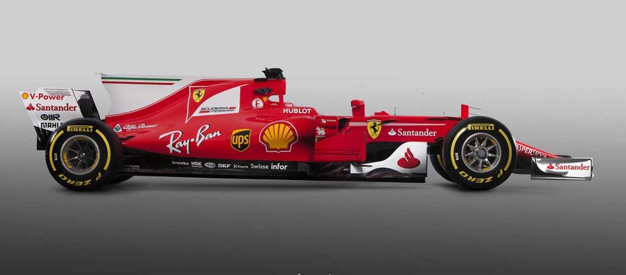 El Ferrari SF70H de Fórmula 1, en imágenes