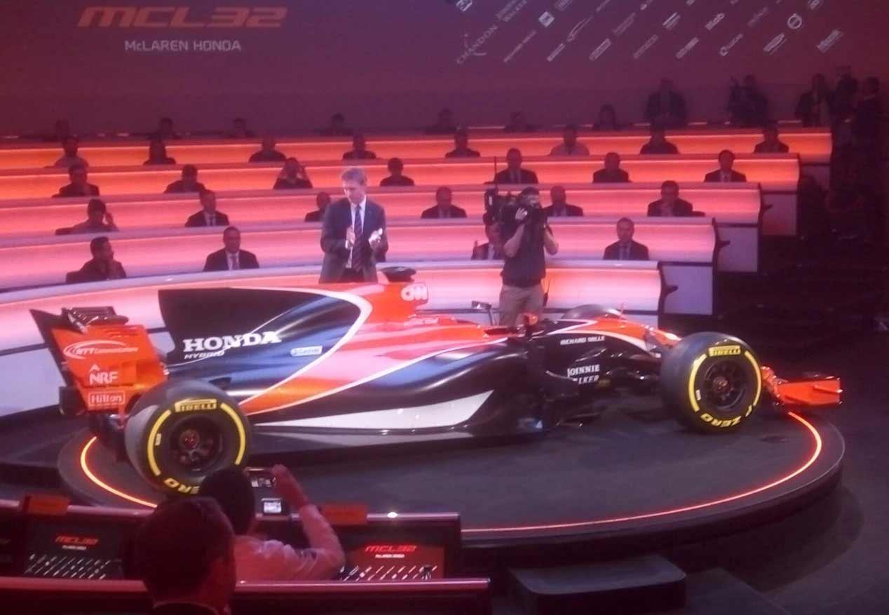 McLaren-Honda MCL32, el nuevo coche de Fernando Alonso