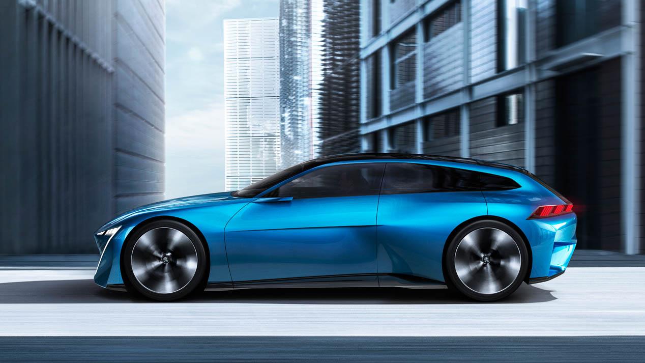 Peugeot Instinct Concept, el futuro de la conducción autónoma