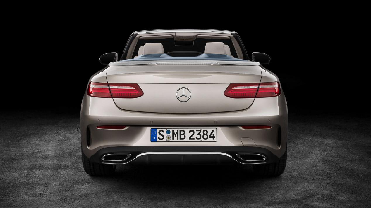 Mercedes Clase E Cabrio 2017, nueva generación mucho más sofisticada