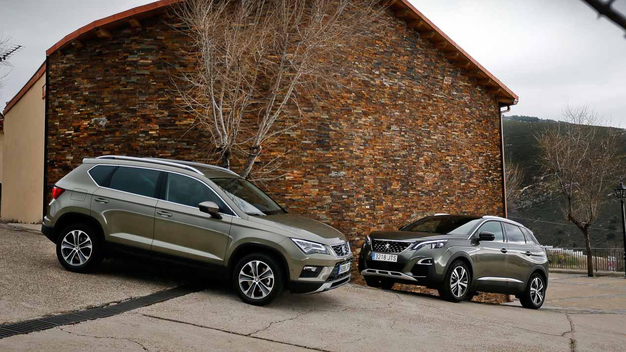 Comparativa: Seat Ateca 1.6 TDI vs Peugeot 3008 1.6 BlueHDi