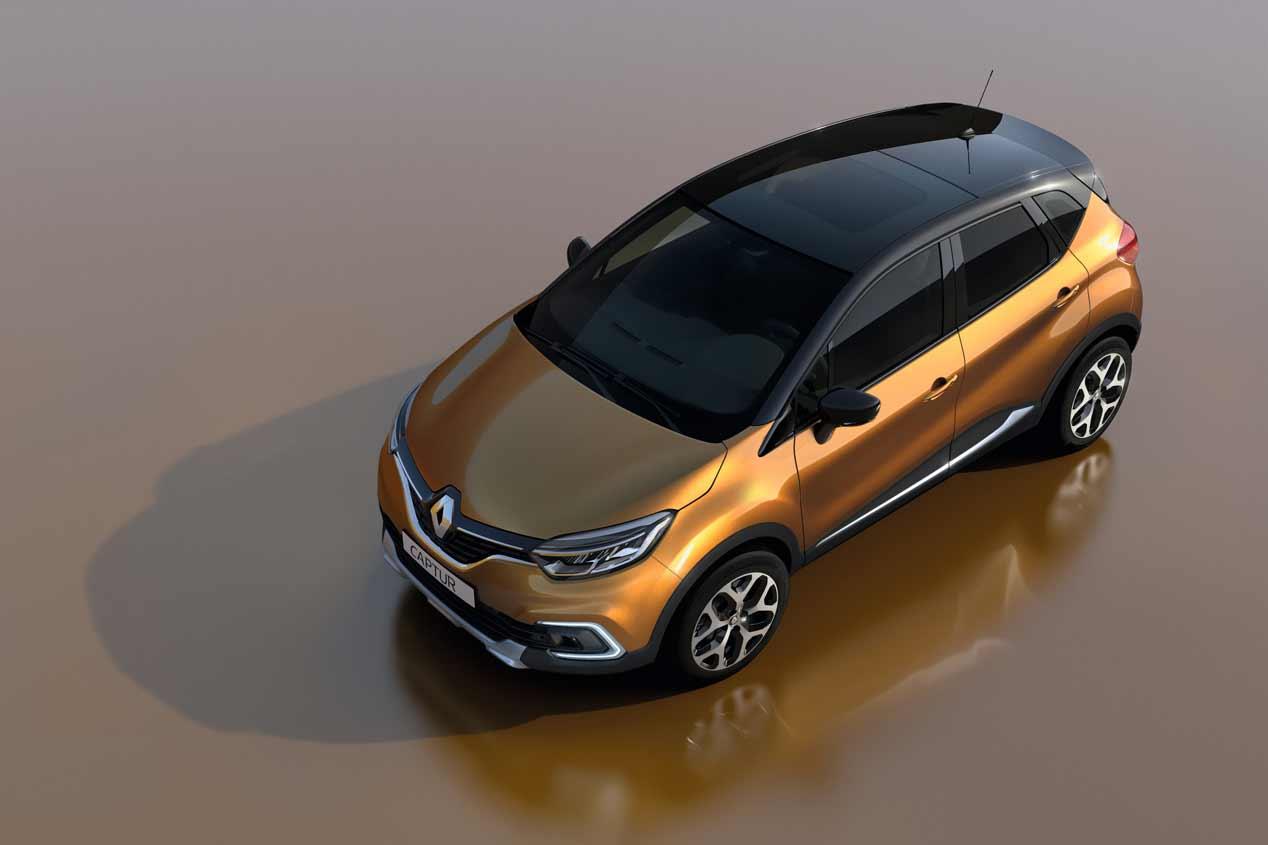 Renault Captur 2017: primeras fotos
