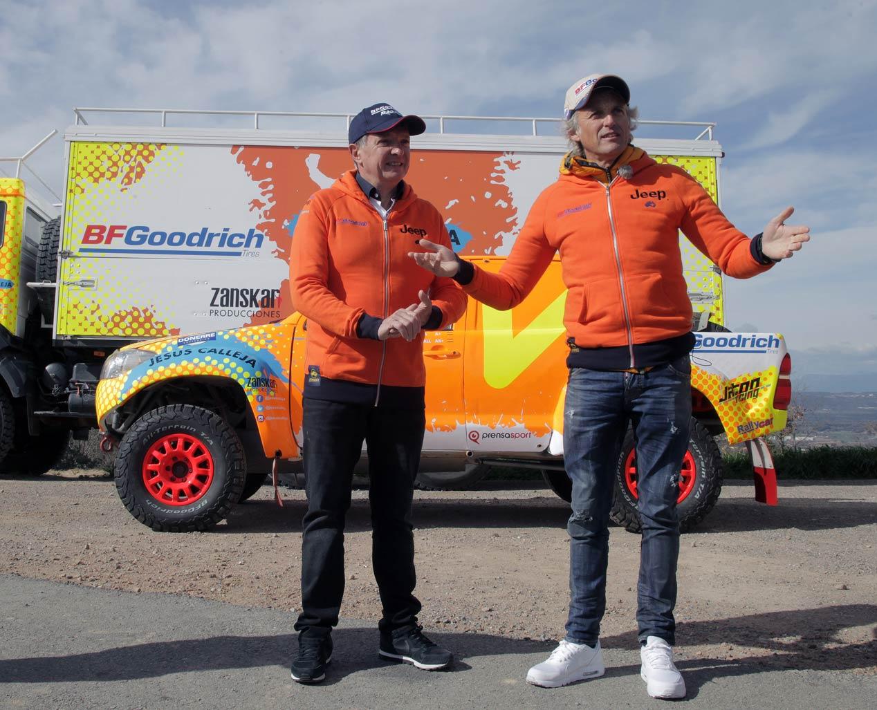 Jesús Calleja, a por el Dakar 2018