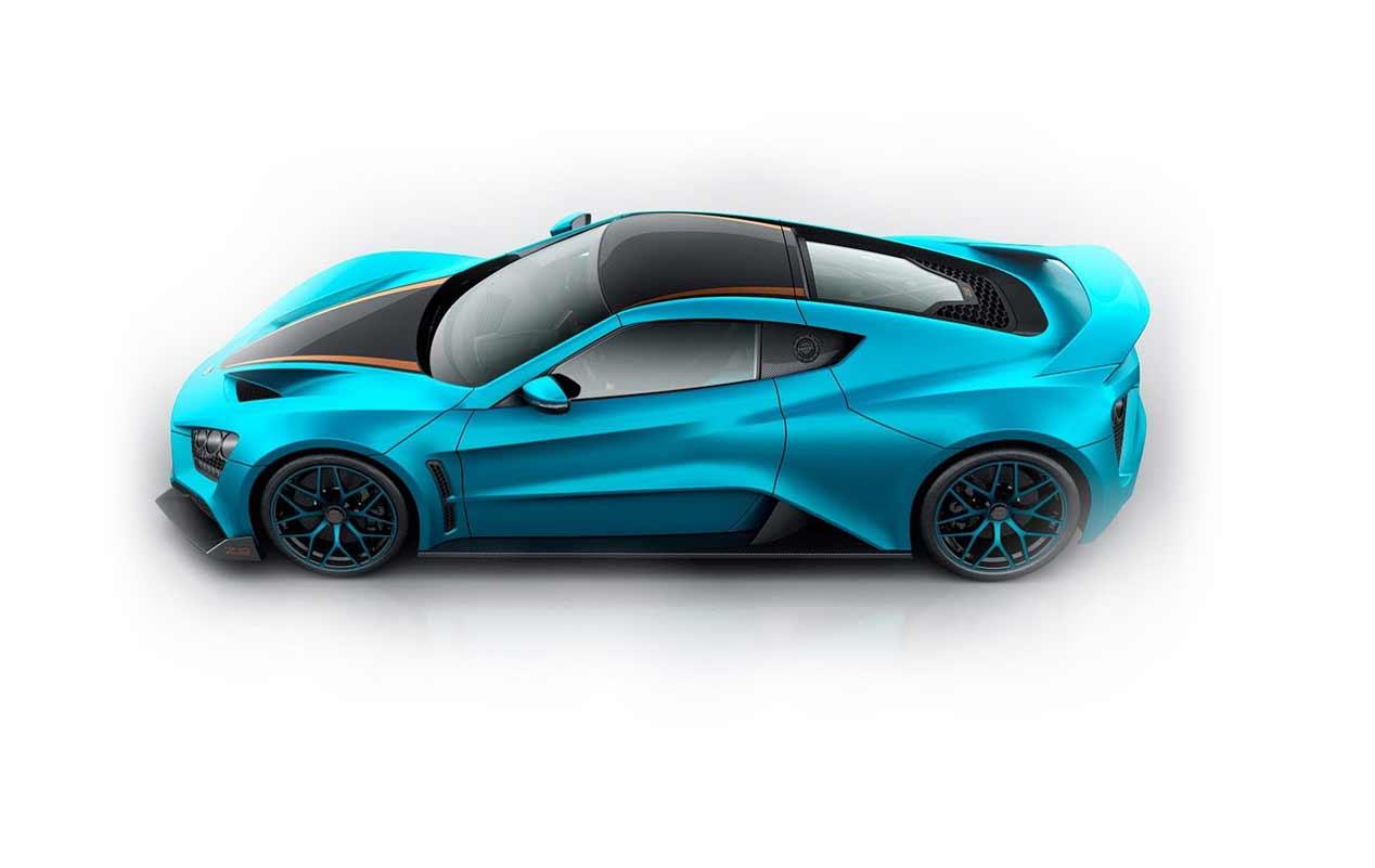 Zenvo TS1 GT: nuevo superdeportivo en el Salón de Ginebra
