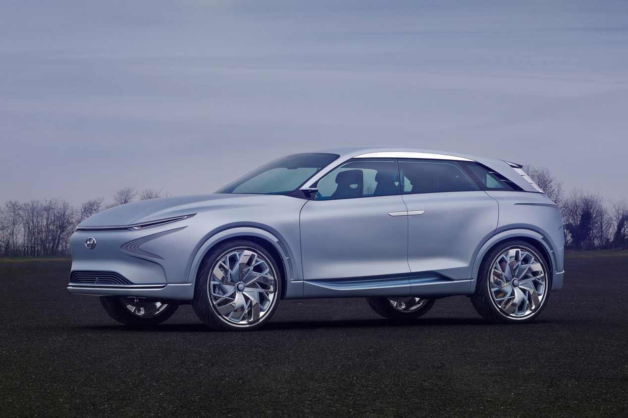 Hyundai FE Fuel Cell Concept, en el Salón de Ginebra 2017