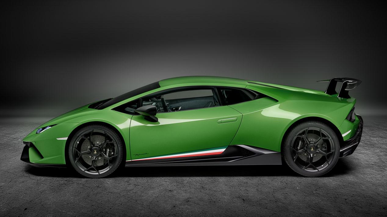 Lamborghini Huracán Performante, el más rápido